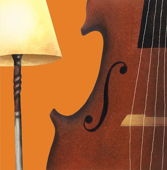 楽器のイラストレーション